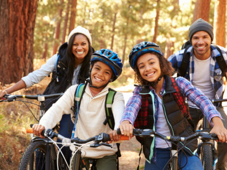 Top tips to get your kids on their bikes this half term.